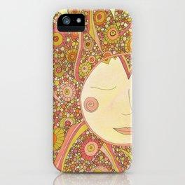 Even the Sun Needs a Nap iPhone Case