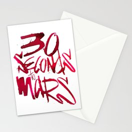 30 Seconds to Mars Stationery Cards
