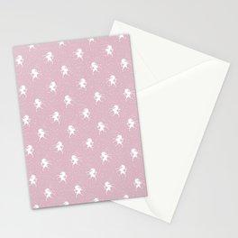 Unicorns Pink Stationery Cards