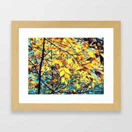 Famous fall 31 Framed Art Print