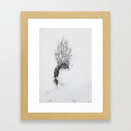 Garden III Framed Art Print