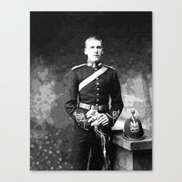 A young WWI Soldıer Canvas Print