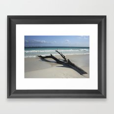 Carribean sea 13 Framed Art Print