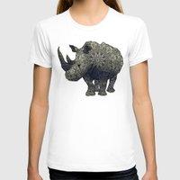 rhino T-shirts featuring Rhino by Dusty Goods