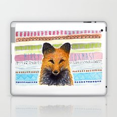 Merry Foxmas! Laptop & iPad Skin