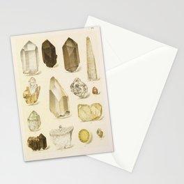 Quartz Crystals Stationery Cards