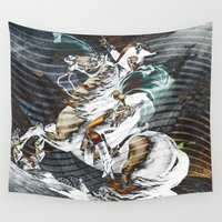 napoleon Wall Tapestries featuring Napoleon by FakeFred