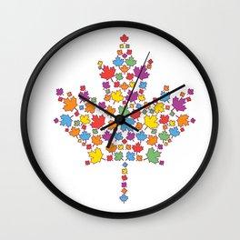 United Canada Wall Clock