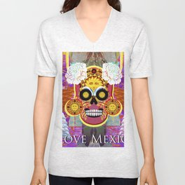I love Mexico Unisex V-Neck
