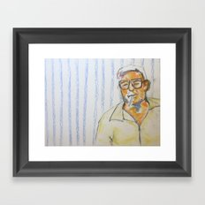 Grandma's BFF Framed Art Print