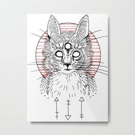 figurehead Metal Print