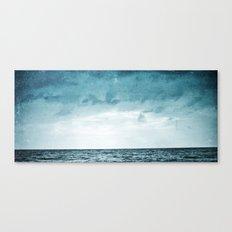 L'île invisible . . . Canvas Print