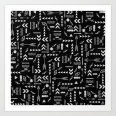 Follow The Arrows Art Print
