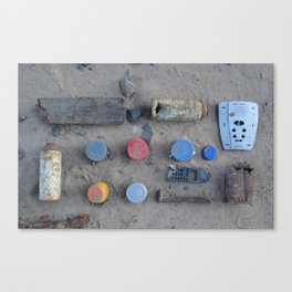 Trash Knolling, 2013. Canvas Print