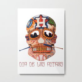 Dia De Los Astros Metal Print