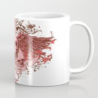 friday Mugs featuring Friday by Tshirt-Factory