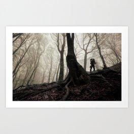 Forest Hunter Art Print