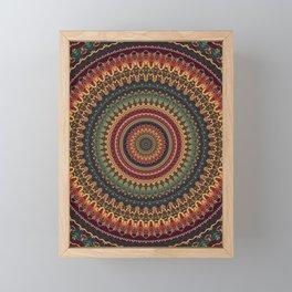 Mandala 488 Framed Mini Art Print