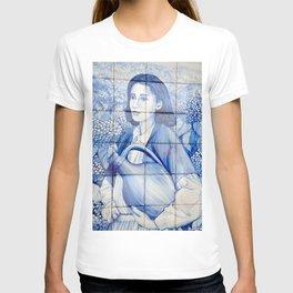 Azulejo mural T-shirt