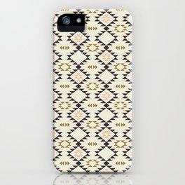 Golden Brown Pink - Navajo  iPhone Case