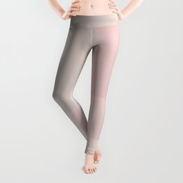Pale Dusty Rose and Grey shades Leggings