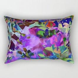 Poppy Batik Rectangular Pillow