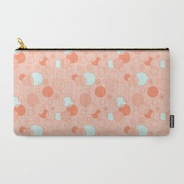 Coral Bubbles (with a hint of mint) Carry-All Pouch