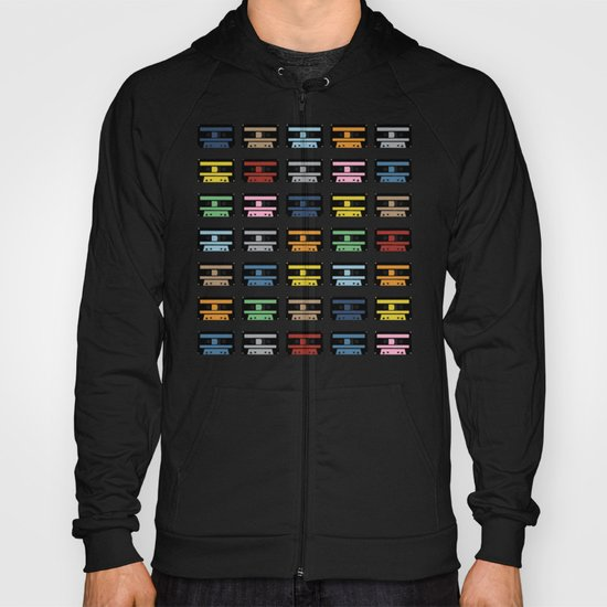 Rainbow Black Tapes Hoody
