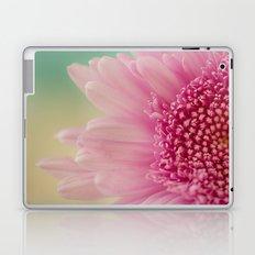 Pink bursts, Floral Macro Photography Laptop & iPad Skin