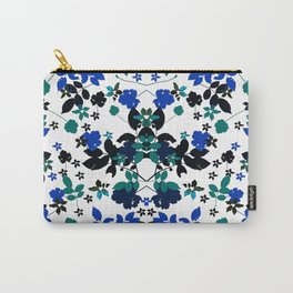 cobalt leaves Carry-All Pouch