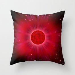 Betelgeuse in Orion. Throw Pillow
