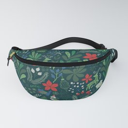 Merry Christmas pattern Fanny Pack