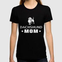 Dachshund Mom Funny Gift Shirt T-shirt