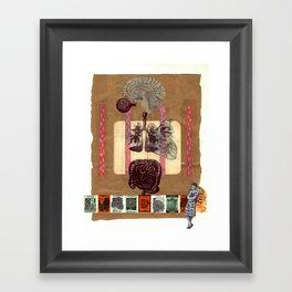 body bits Framed Art Print