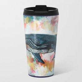 Wishing Whale Metal Travel Mug