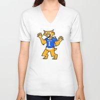 kentucky V-neck T-shirts featuring Kentucky by jublin