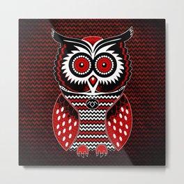 Twin Owl Peaks Metal Print