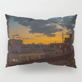 Tokyo Nights / Sunset over Fuji / Liam Wong Pillow Sham