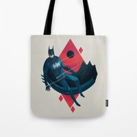knight Tote Bags featuring Knight by Reno Nogaj