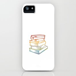 Reading is my favorite sport - Book Lover Teacher iPhone Case