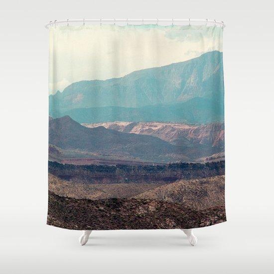 Slingshot Slate Zion National Park Utah Shower Curtain By Ben Renschen Society6