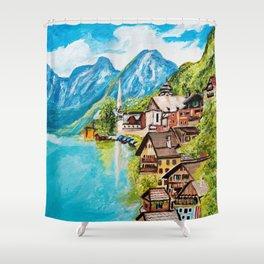 Hallstatt, Austria Shower Curtain