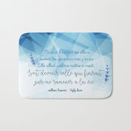 UGLY LOVE . COLLEEN HOOVER Bath Mat
