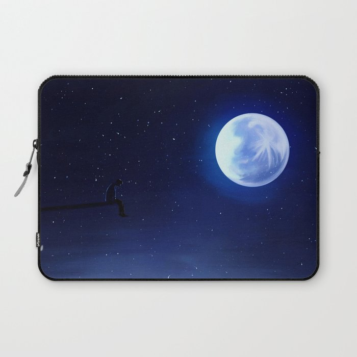 Jimin Serendipity Talking to the Moon Laptop Sleeve