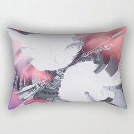 Artistic LXXX - Abstract Fractal Lens CityScape II Rectangular Pillow