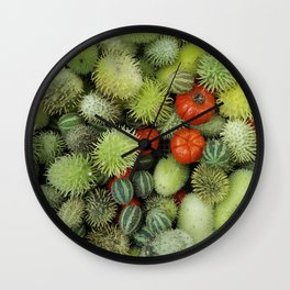 Pungent nature Wall Clock