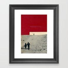 es* Framed Art Print