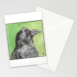 Majestic Raven Stationery Cards