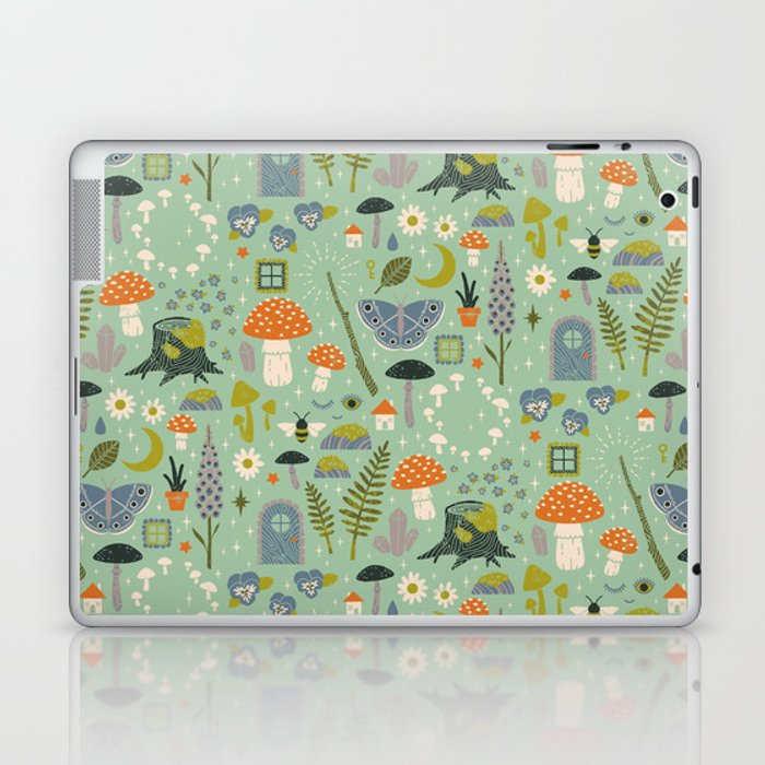 Fairy Garden Laptop & iPad Skin