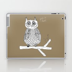 Give A Hoot Laptop & iPad Skin